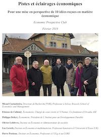 Téléchargez le document complet Pistes et éclairages économiques au format PDF